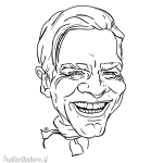 Karikatura Ewan McGregor