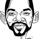Karikatura Will Smith